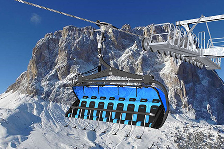 "News - ""The Legends"", a new comfortable chairlift in Meribel"